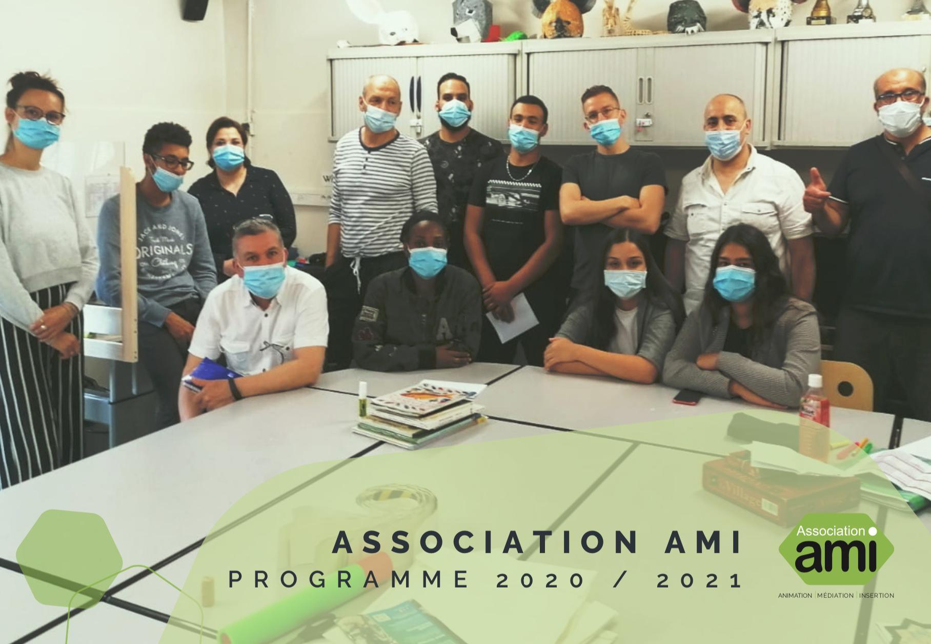 Programme d'activités 2020 - 2021   Association AMI