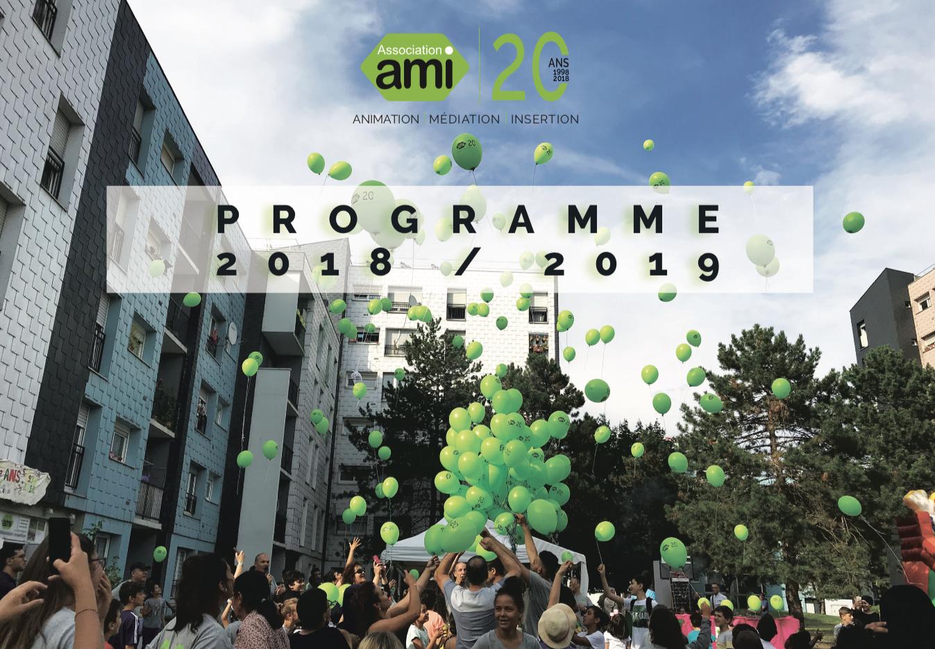 Programme d'activités 2018 - 2019 | Association AMI
